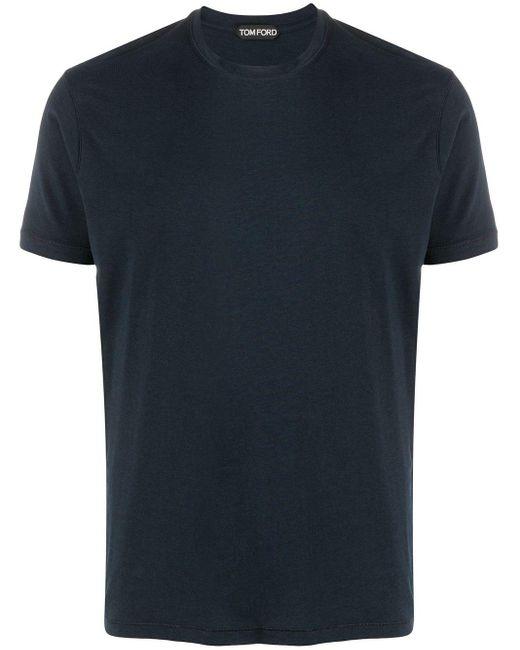 メンズ Tom Ford クルーネック Tシャツ Blue