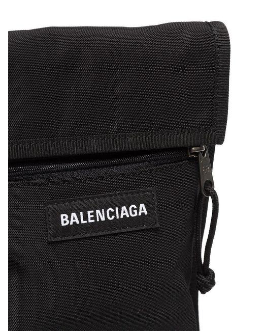 Сумка-мессенджер Explorer Arena Balenciaga для него, цвет: Black