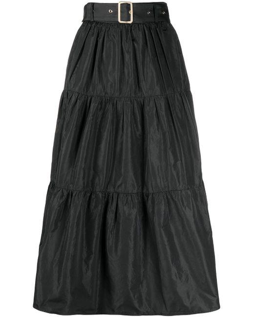 Liu Jo ティアードスカート Black
