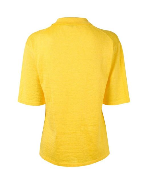 Dior プレオウンド ポロシャツ Yellow