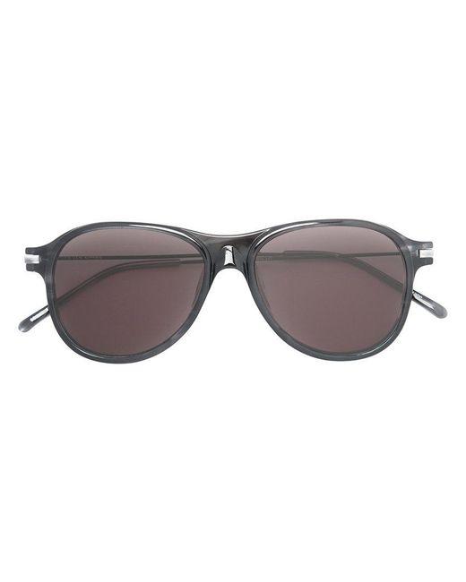 Linda Farrow | Black Aviator Sunglasses for Men | Lyst