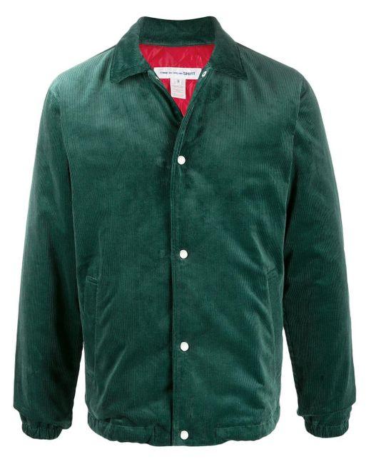 メンズ Comme des Garçons シャツジャケット Green