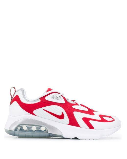 メンズ Nike Air Max 200 スニーカー Red