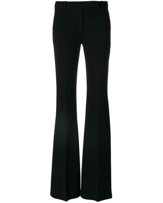Расклешенные Брюки Строгого Кроя Alexander McQueen, цвет: Black