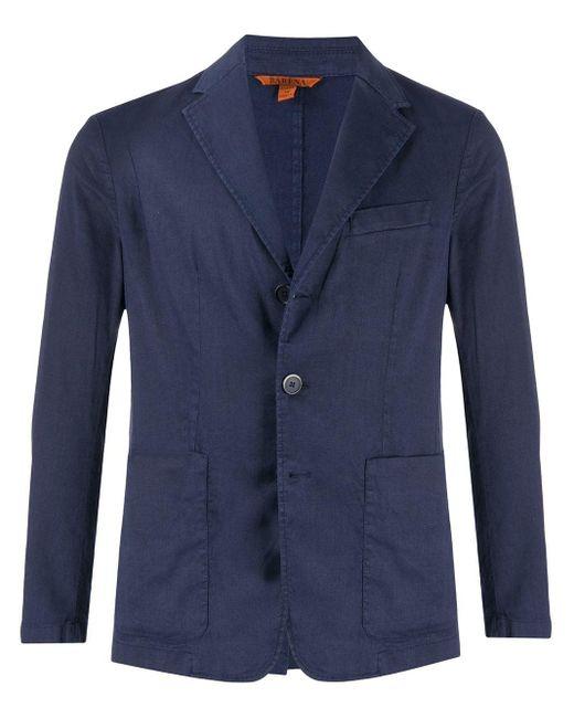 メンズ Barena シングル ジャケット Blue