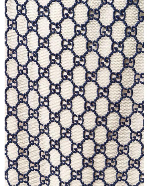 Жаккардовая Юбка С Узором GG Supreme Gucci, цвет: Black