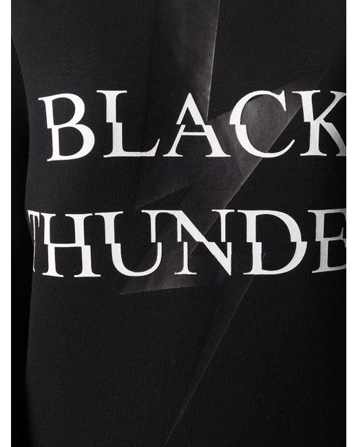 Neil Barrett Black Thunder スウェットシャツ
