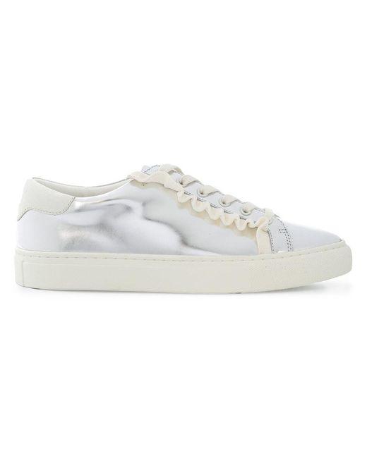 Nicekicks Cheap Online mirrored low-top sneakers - Metallic Tory Burch Outlet Discount Authentic Clearance Footlocker Cheap Brand New Unisex Cheap Online t0nizHGjvj