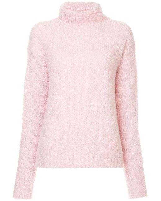 Sies Marjan タートルネックセーター Pink
