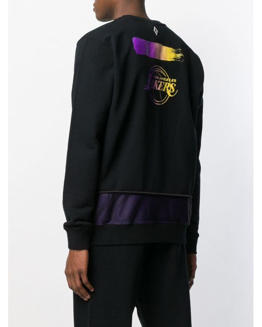 Lakers sweatshirt Marcelo Burlon pour homme en coloris Black