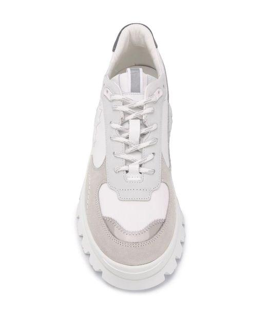 メンズ DSquared² ロゴ チャンキーソール スニーカー White