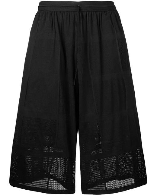 Short à effet sarouel Y-3 pour homme en coloris Black