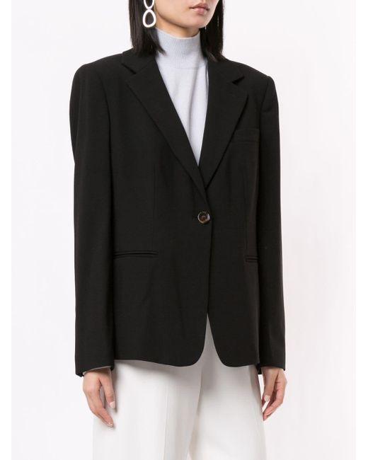 Giorgio Armani オーバーサイズ テーラードジャケット Black