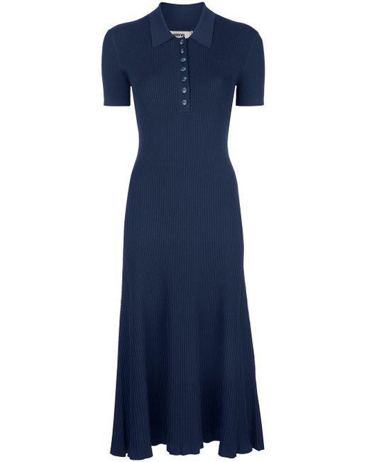 Jason Wu ファインニット ドレス Blue
