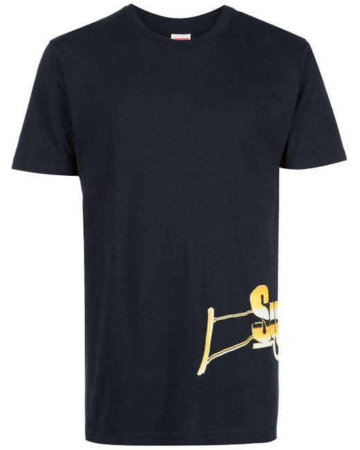 メンズ Supreme Automatic Tシャツ Blue