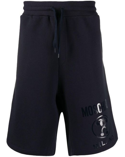 メンズ Moschino トラックショーツ Blue