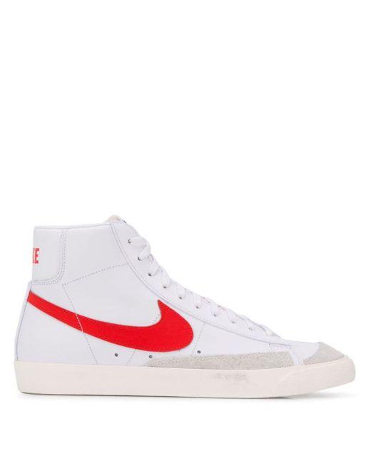 Высокие Кеды Blazer Mid '77 Vintage Nike для него, цвет: White