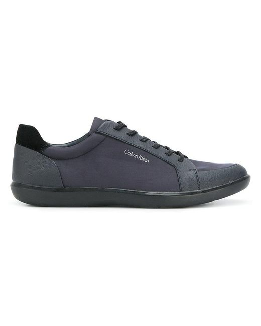 CALVIN KLEIN 205W39NYC - Blue Lace Up Shoes for Men - Lyst