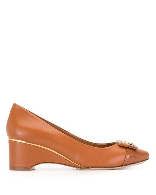 Туфли Gigi На Танкетке С Закругленным Носком Tory Burch, цвет: Brown
