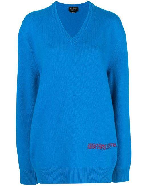 CALVIN KLEIN 205W39NYC クラシック セーター Blue