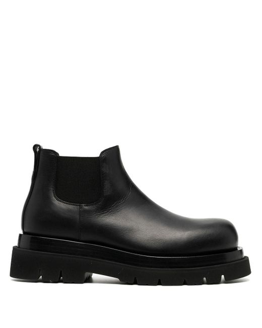 Ботинки На Платформе Bottega Veneta для него, цвет: Black