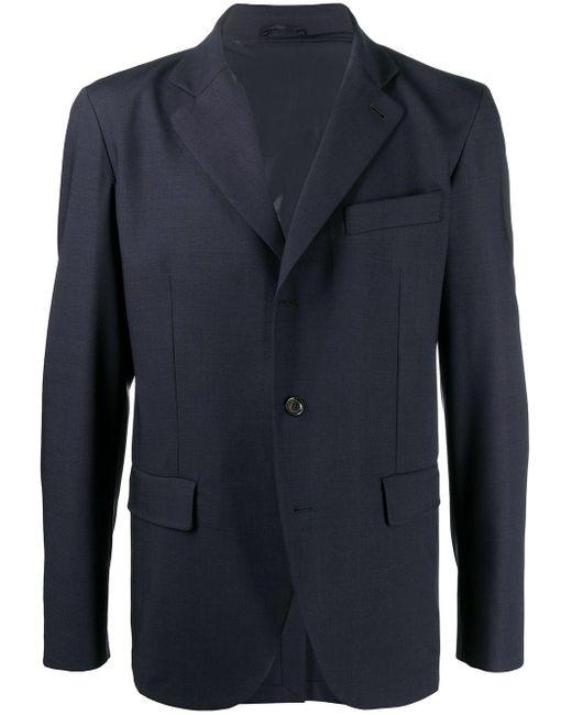 メンズ Aspesi シングルジャケット Blue