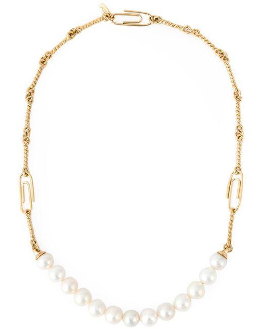 Aurelie Bidermann - Metallic 'cheyne Walk' Necklace - Lyst
