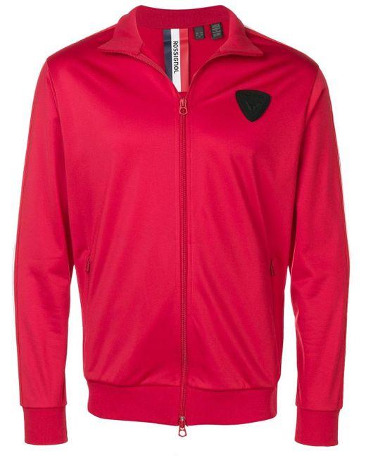 メンズ Rossignol ロゴ スポーツジャケット Red