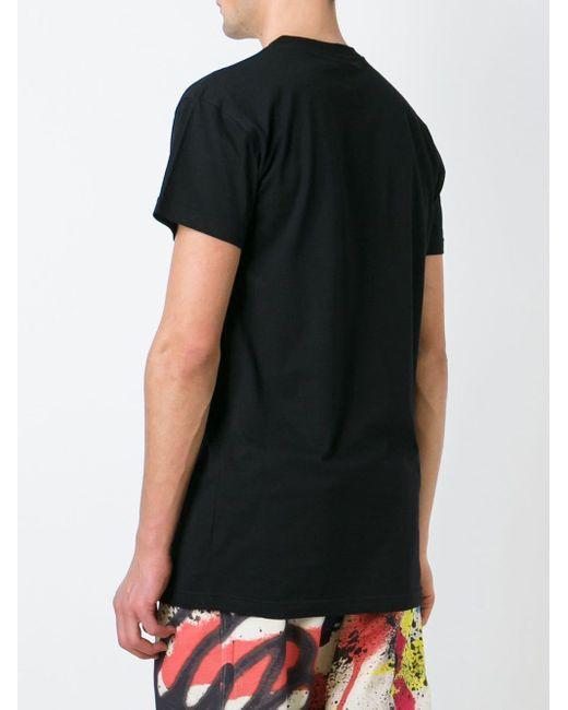 メンズ KTZ ロゴプリント Tシャツ Black