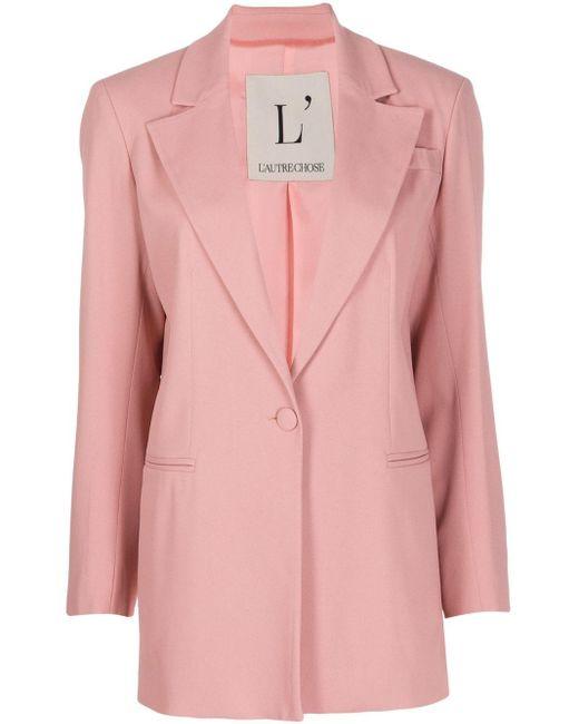 L'Autre Chose シングルジャケット Pink