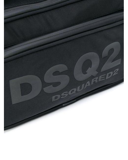 Сумка-тоут С Логотипом DSquared² для него, цвет: Black