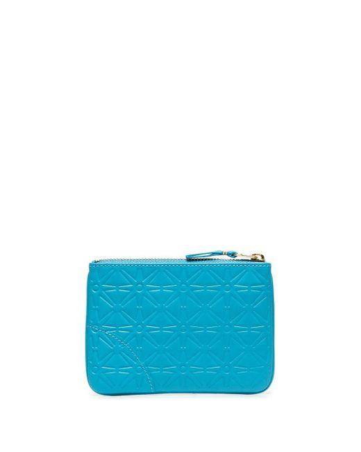 Кошелек С Тиснением Comme des Garçons для него, цвет: Blue