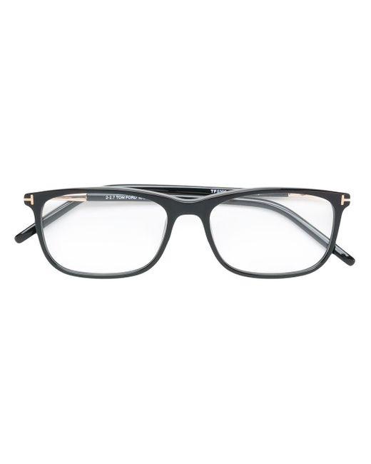 Tom Ford スクエア眼鏡フレーム Black
