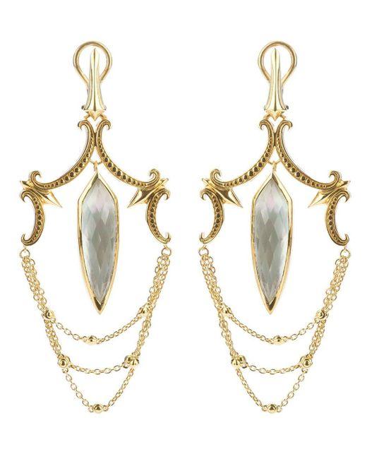 Stephen Webster Metallic Large Chandelier Earrings