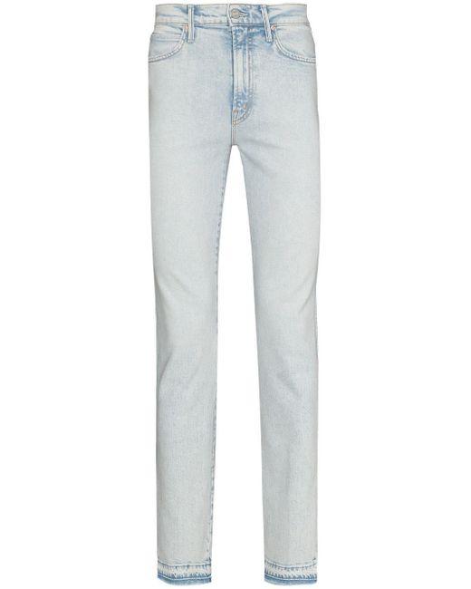 Jeans a vita alta Rascal Slide di Mother in Blue