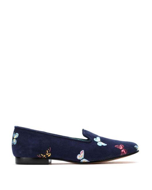 Blue Bird Shoes Borboletas サンダル Blue
