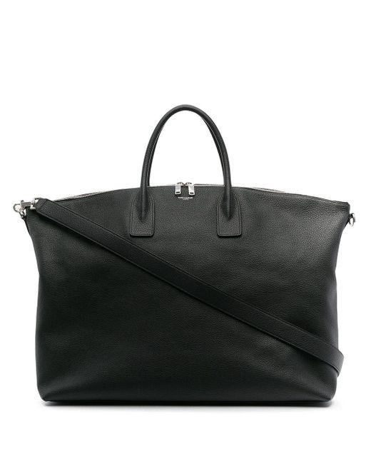 Сумка-тоут Giant С Логотипом Saint Laurent, цвет: Black
