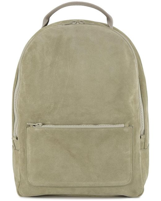 Yeezy | Gray Suede Backpack for Men | Lyst