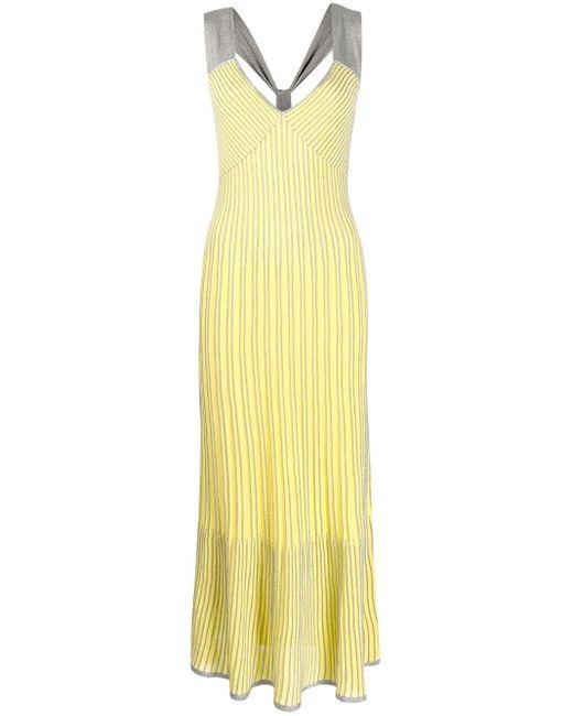 M Missoni マキシドレス Yellow