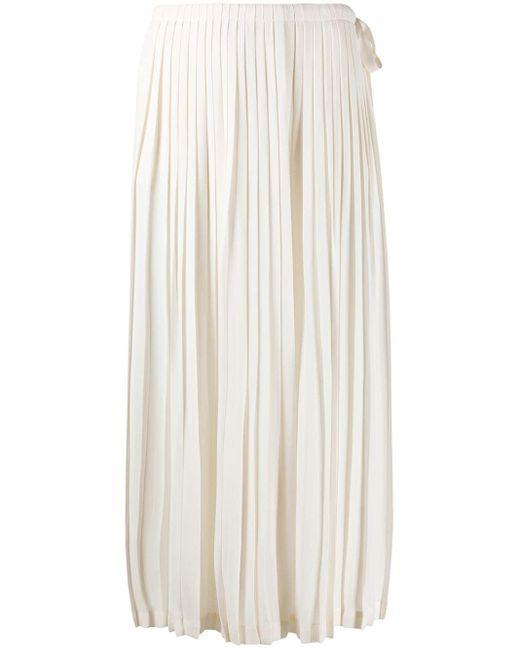 Плиссированная Юбка Миди Valentino, цвет: Multicolor
