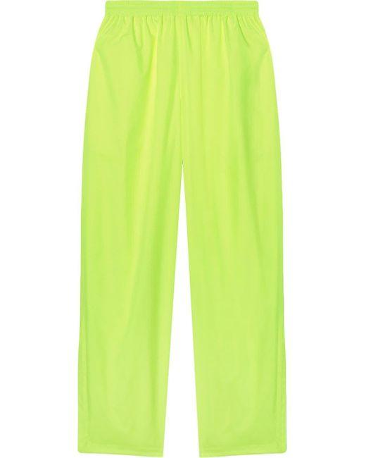 メンズ Balenciaga ワイド イージーパンツ Yellow