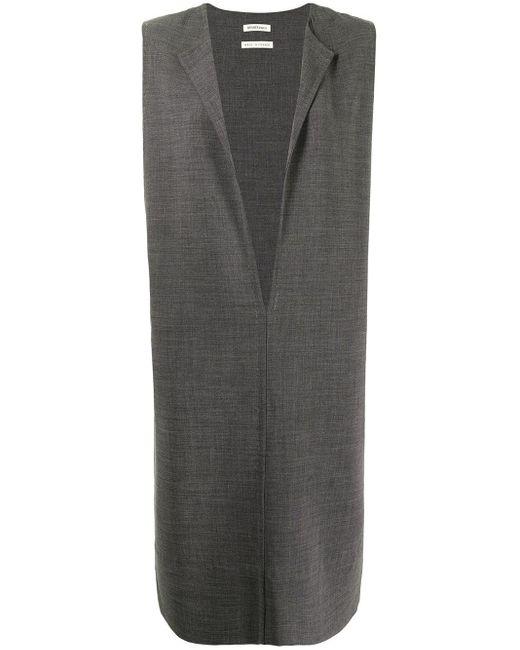 Hermès プレオウンド ノースリーブドレス Gray