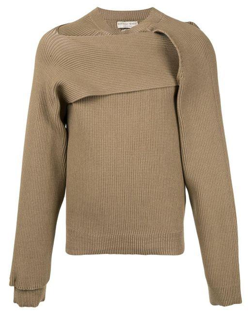 メンズ Bottega Veneta ツイスト セーター Multicolor