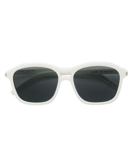 Saint Laurent Sl25 Sunglasses White