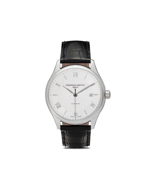 Наручные Часы Classics Index Automatic 40 Мм Frederique Constant для него, цвет: Metallic
