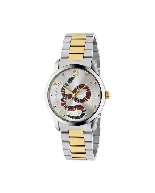 b091b2e0b80 Gucci - Metallic G-timeless Watch