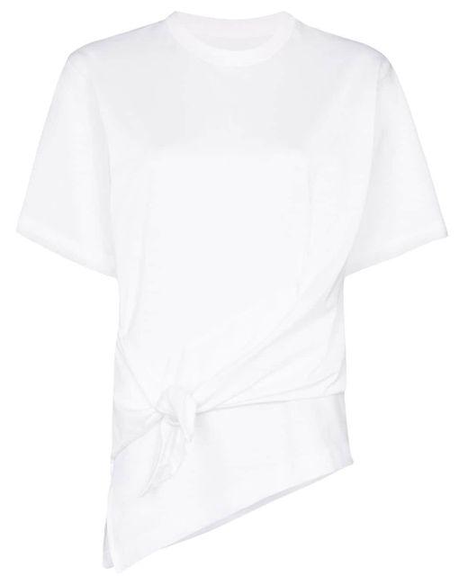Marques'Almeida ノットディテール Tシャツ White