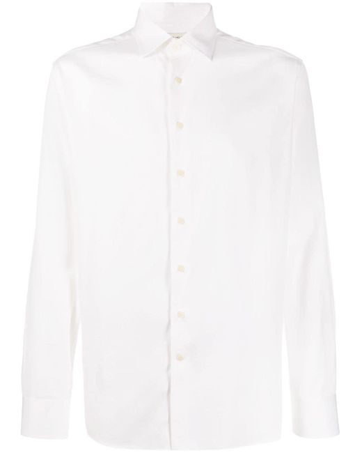 メンズ Etro ロングスリーブ シャツ White