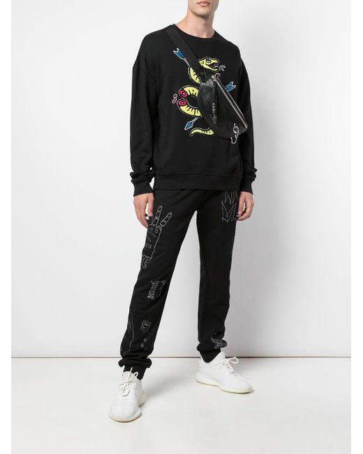 メンズ Haculla Venom スウェットシャツ Black