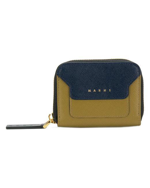 Marni - Blue Trunk Wallet - Lyst